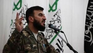 Zahran Alloush, tué dans un raid aérien le 25 décembre 2015
